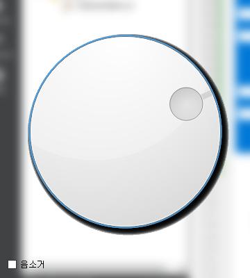 qt using blur effect update after